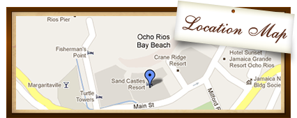 Sandcastles Ocho Rios - Location Map